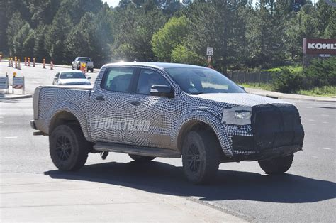 ranger ford 2019 spied 2019 ford ranger and 2020 ford bronco mule