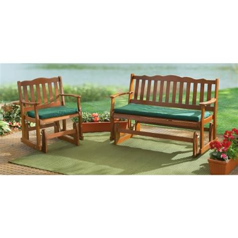 wood glider bench metal and wooden glider bench and benches