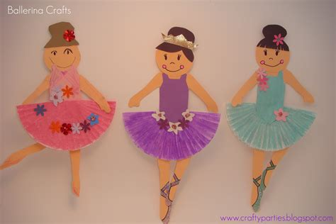 and crafts crafts ballerina craft