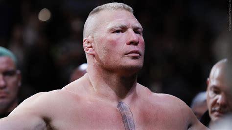 What S Next After Beating Mark Hunt Brock Lesnar Does Brock Lesnar