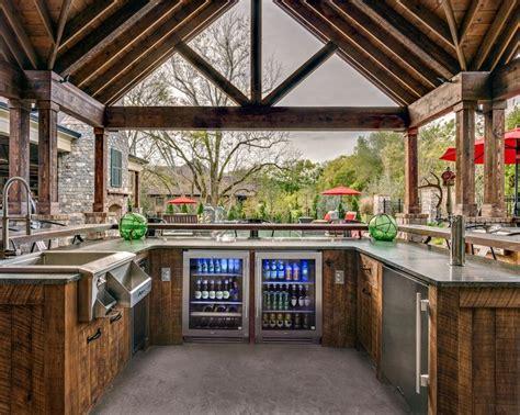 outdoor kitchen design center 25 best ideas about outdoor kitchen cabinets on pinterest