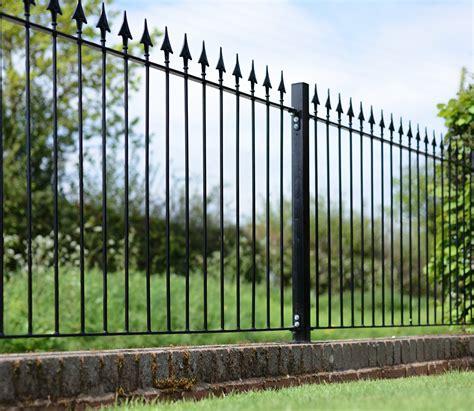 6ft Metal Trellis Grange Montford Spear Top 6ft X 3ft Fence Gardensite Co Uk