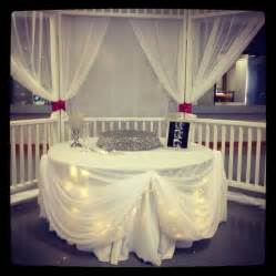 cake table dressing wedding decorators