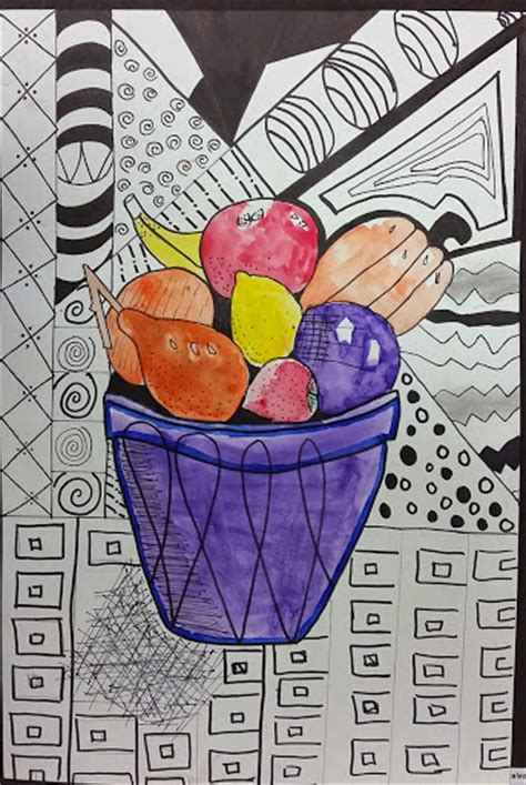 fruit zentangle fruit bowl zentangle a painted perspective
