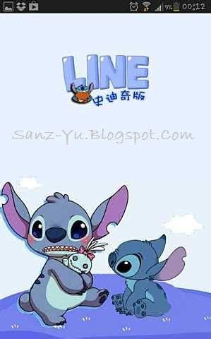 tema line android stitch sanz yu sanzeda fay lupe newest stitch line theme