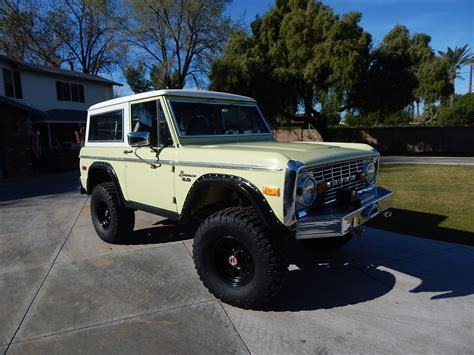 Custom Ford Bronco by Gallery For Gt Custom Ford Bronco