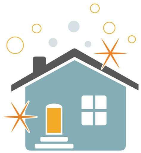 sparkling clean house clipart clipground