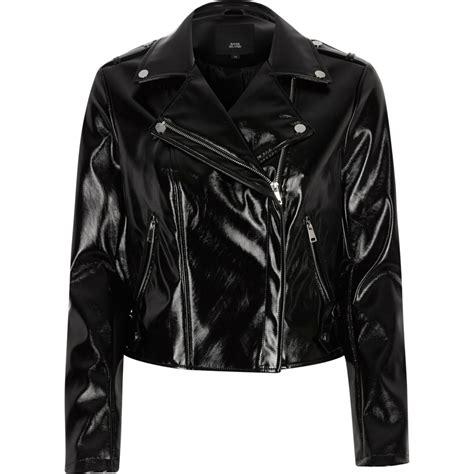 biker jacket sale black vinyl biker jacket coats jackets sale