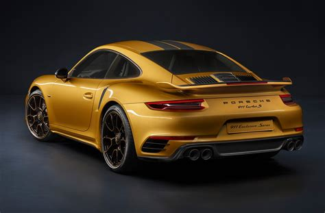 porsche 911 inside porsche 911 turbo s exclusive series unveiled