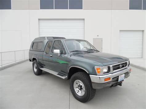 auto air conditioning service 1993 toyota xtra engine control selling at no reserve 1993 toyota x cab sr5 4x4 pickup all original survivor for sale in spokane