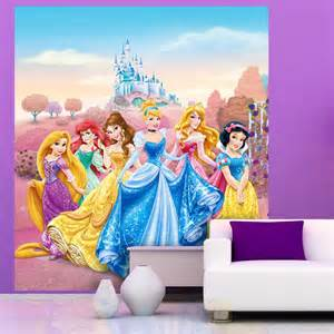 Disney Princess Wall Murals Disney Amp Character Large Wall Mural Bedroom Decor