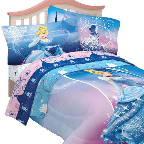 Disney Cinderella Twin Bedding Set Secret Princess Bed Cinderella Bedding Set