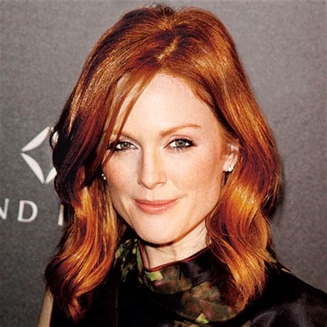 get julianne moore hair color julianne moore red hair instyle com