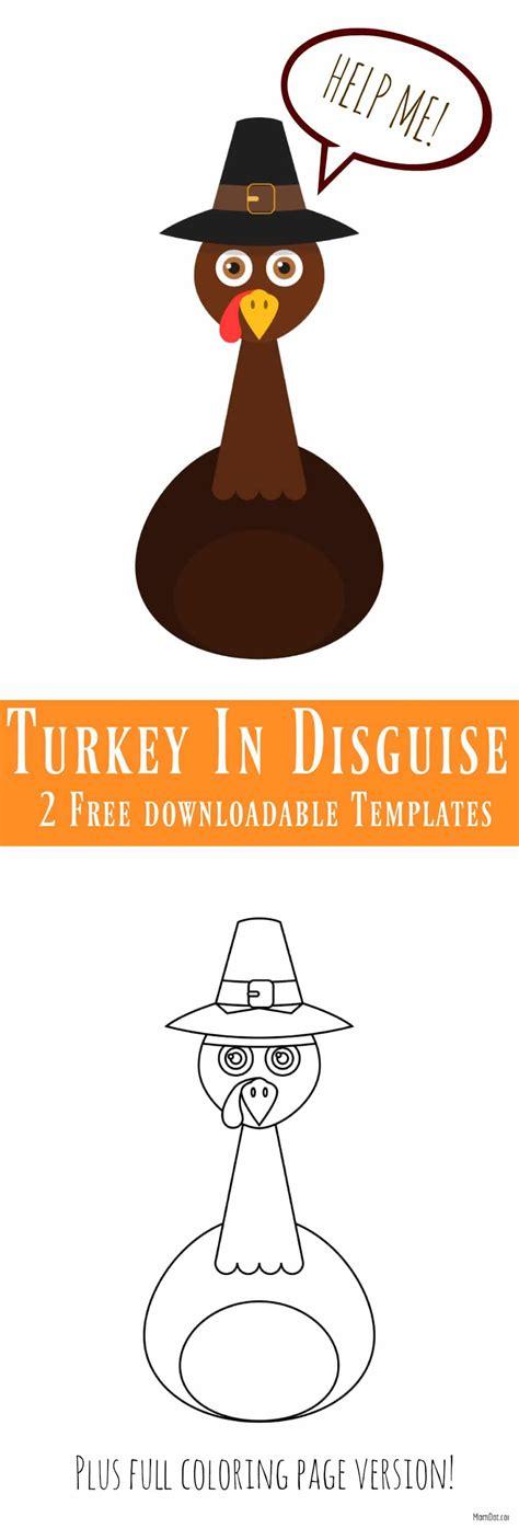 disguise  turkey   templates momdot