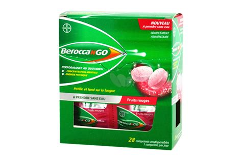 hydration gout beroccango 28 comprim 233 s orodispersibles go 251 t fruits rouges