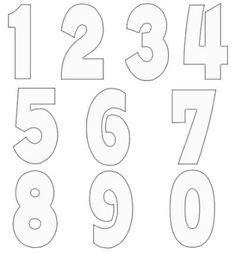 printable block letters  numbers  scrapbooking