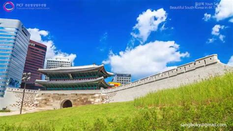 beautiful south korea landscape   uhd timelapse youtube
