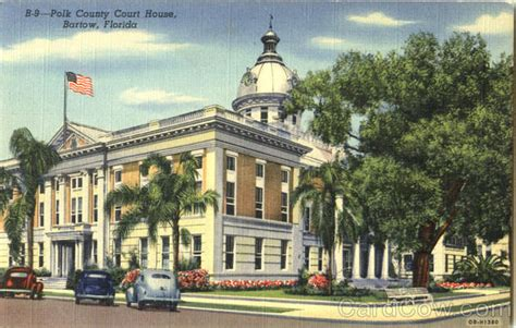 Bartow County Court Records Polk County Court House Bartow Fl