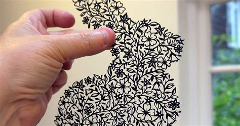 taylor pattern works artist hand cuts insanely intricate paper art from single