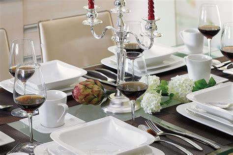 bicchieri in tavola posizione bicchieri a tavola