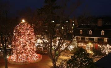 princeton palmer square tree lighting caroling at palmer square jersey buzz