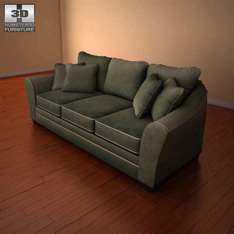 durapella sofa ashley durapella sofa 3d model humster3d