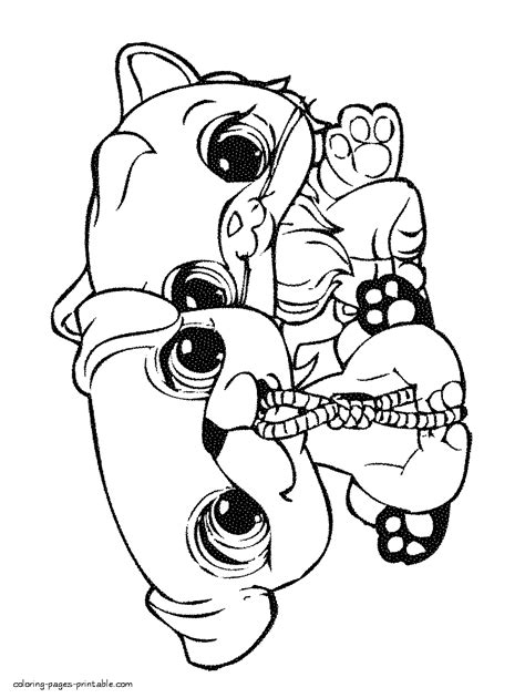 lps cats coloring pages lps cat coloring pages rockthestockreviews co