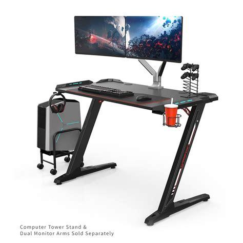 Computer Desk For Gaming by Eureka Z1 S Gaming Desk Gaming Computer Desks Free