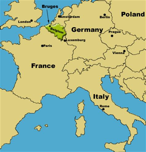 belgium on europe map alkeks abroad bruges basics alkeks abroad