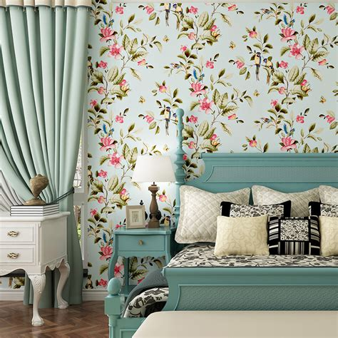 flower wallpaper designs for bedrooms aliexpress com buy 3d modern wallpapers home decor