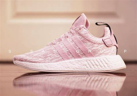 all light pink adidas adidas nmd r2 pink sneakernews com