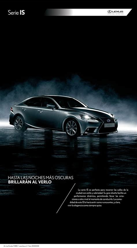 lexus ads lexus ads on behance advertising montajes