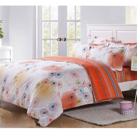 Where To Buy Cheap Bed Sets Sell 4pcs Bedding Sets Cheap Comforter Set Size Bed Sheet Floral Dandelion