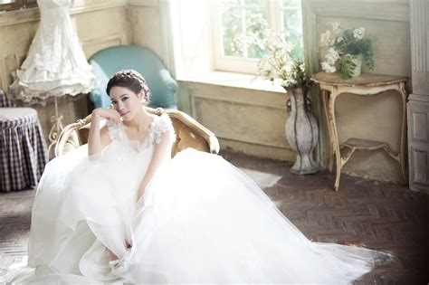 Makeup Pre Wedding korean wedding gown dress korean wedding photo ido
