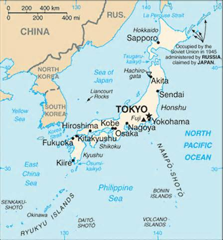 Japan Map World by Japan Maps