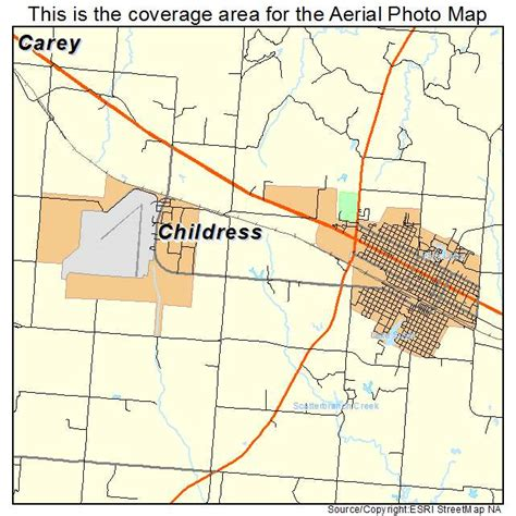 childress texas map aerial photography map of childress tx texas