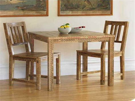 Compact Kitchen Table Sets Bloombety Small Kitchen Table Sets With Wooden Material Small Kitchen Table Sets