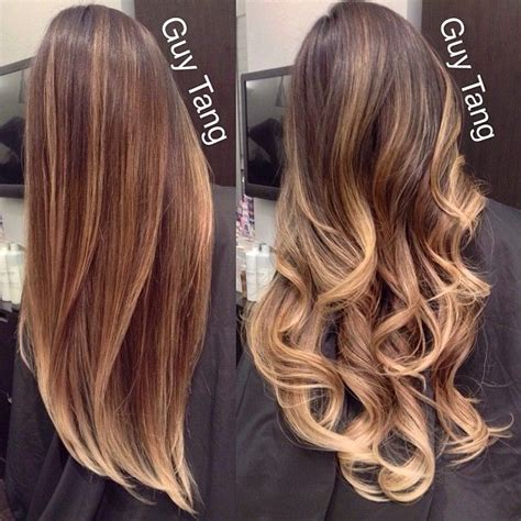 new hair style looks like ombre ombre hairstyles cuttings colors 2015 16 latest trends