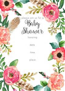 vintage baby shower invitation templates free 25 best ideas about floral baby shower on