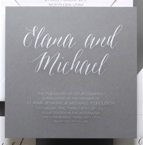 Wedding Announcement Wording For Couples by Say It With Style Wording Wedding Invitations