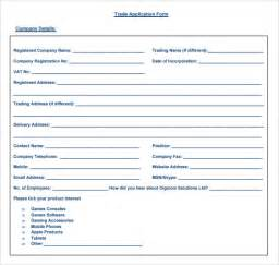 trade reference form template sle trade reference 5 documents in pdf