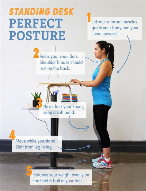 standing desk tips 5 tips for posture at a standing desk photo