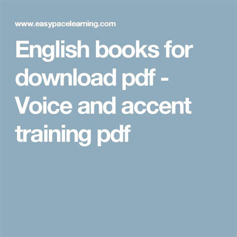 sle cv for voice and accent trainer best 25 english books pdf ideas on pinterest leo