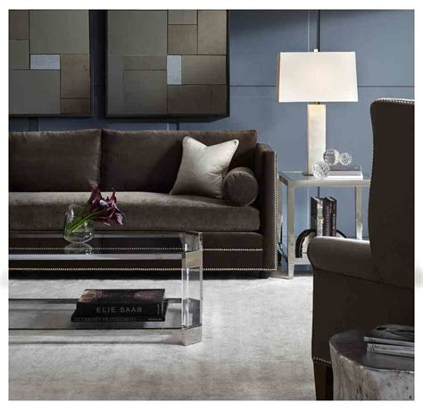 modern accent tables for living room bardot sofa melrose accent tables modern living room