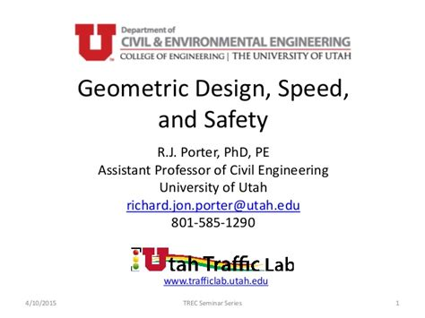 geometric design of hill roads ppt geometric design speed and safety