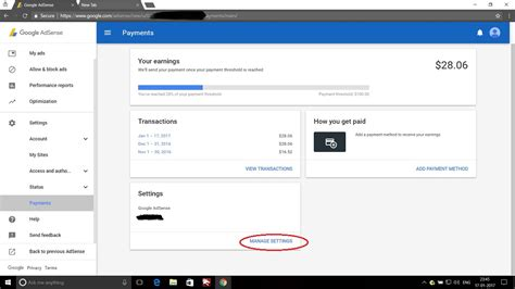 adsense payment what is google adsense address verification and how to
