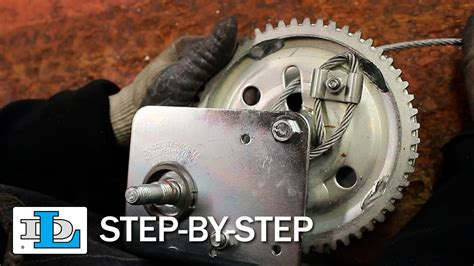 installing cable on brake winches step by step