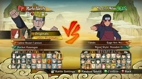 cara mod game naruto ultimate ninja storm revolution save naruto storm revolution all characters unlocked
