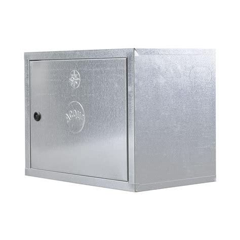 cassetta acqua 066 cassetta coibentata per contatore acqua zincata