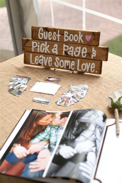 unique wedding guest book ideas   big day
